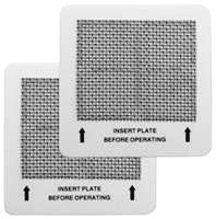 Heavy duty ceramic ozone plate filters